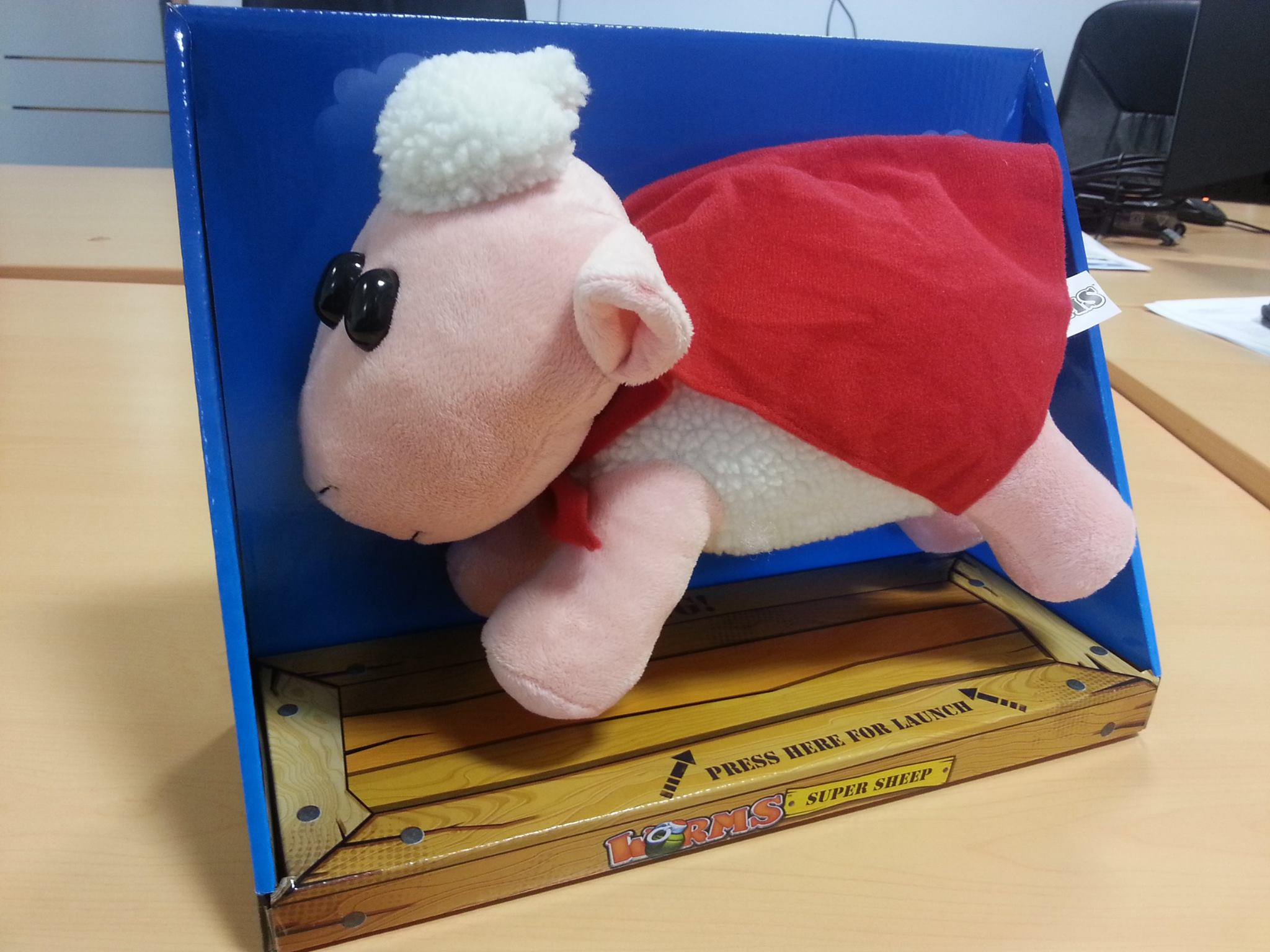 Win a Super Sheep on Twitter Today!