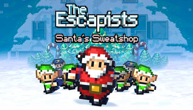 New Free The Escapists DLC! Santa's Sweatshop!