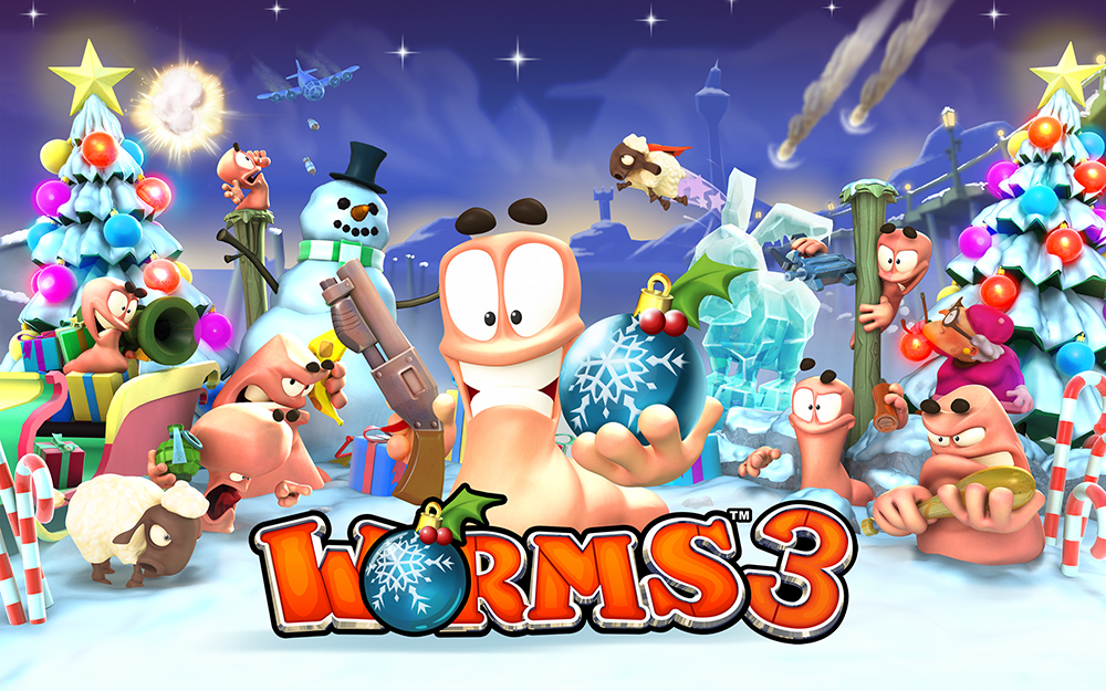 Worms 3 receives free Christmas update