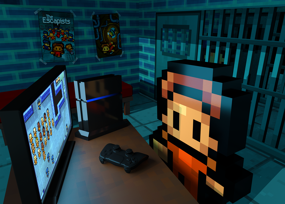 COMPETITION: Win The Escapists on PS4!