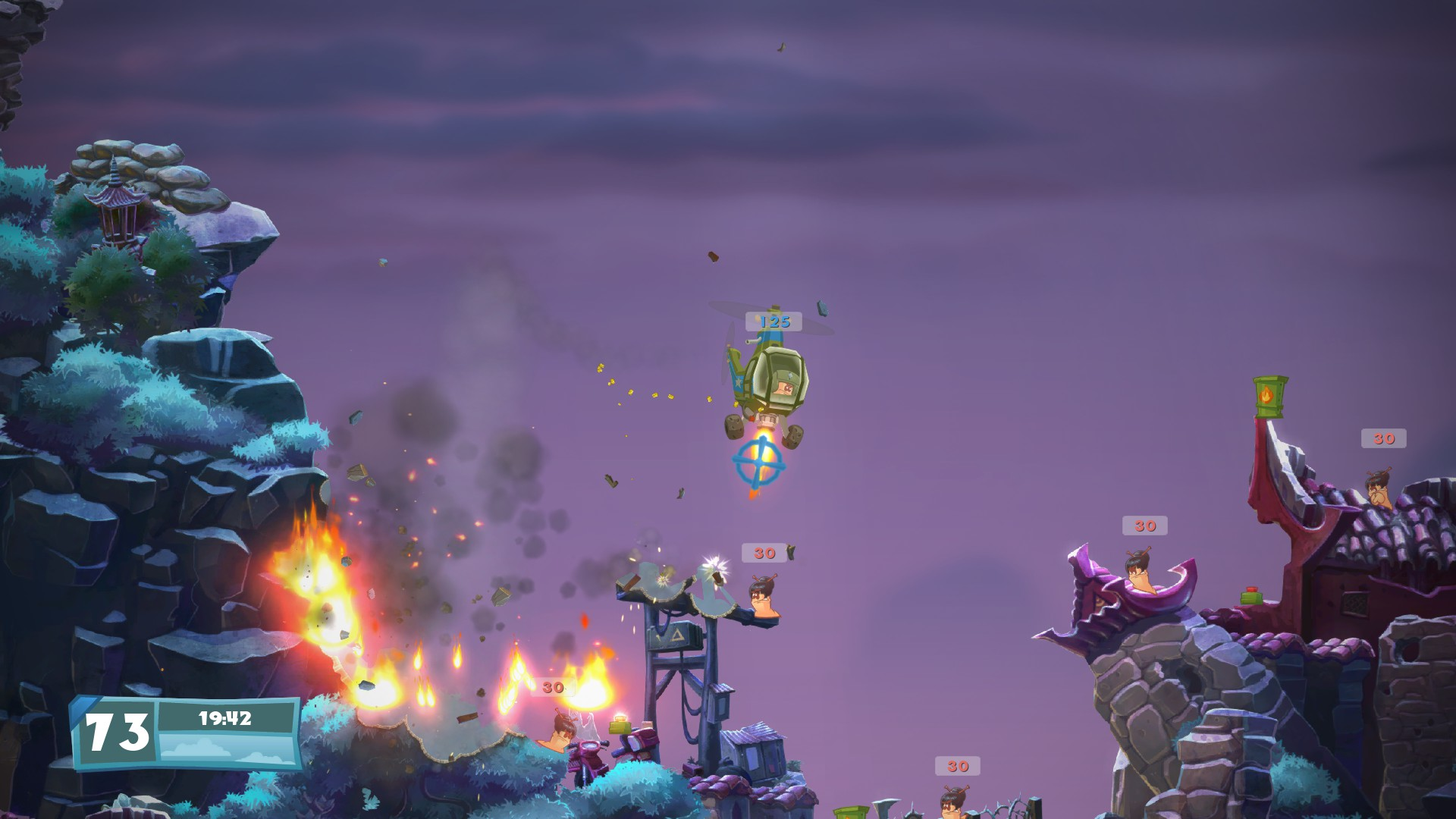 Worms W.M.D – Mechanized Mayhem Trailer!