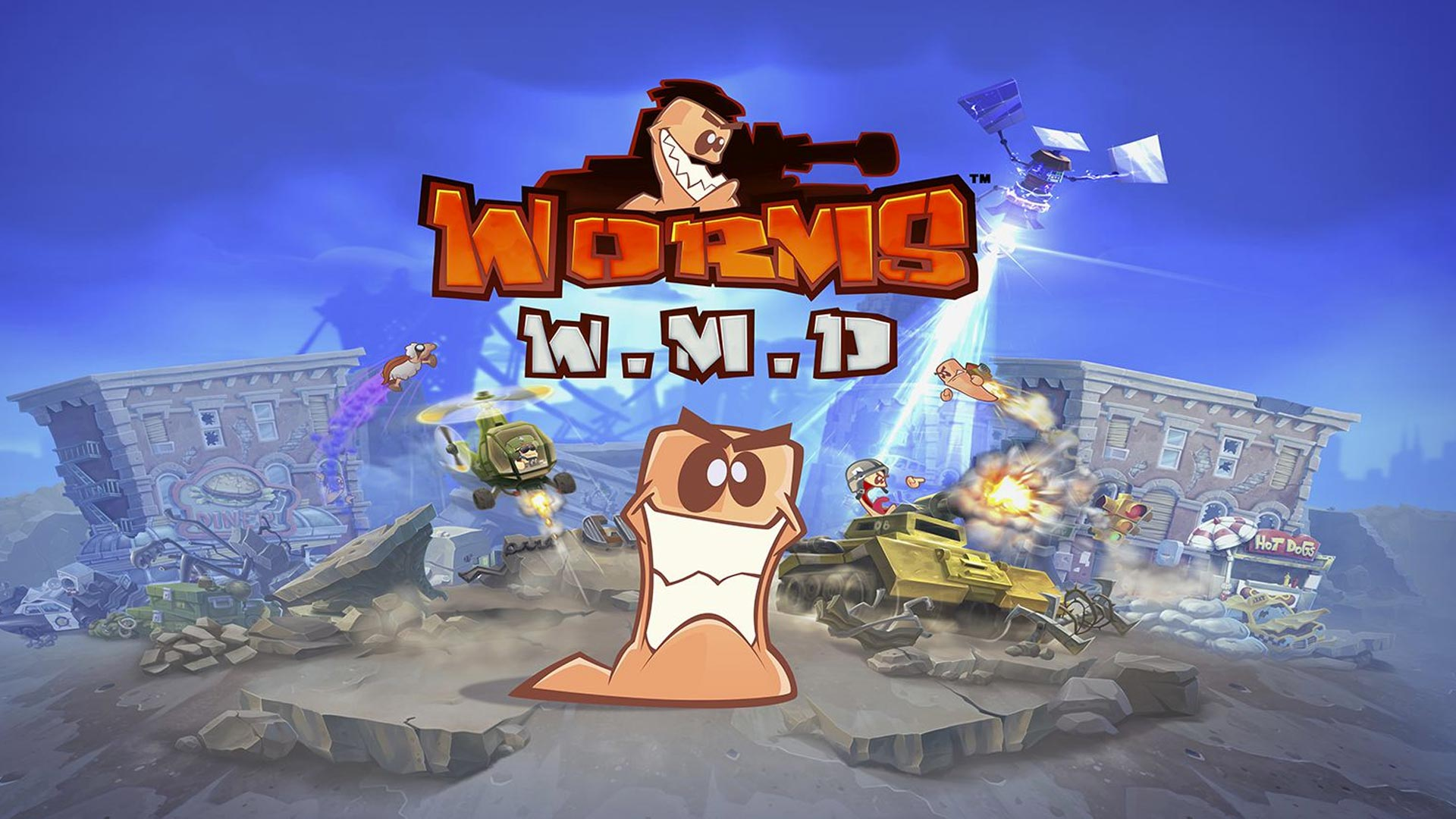 Worms W.M.D – Wormhole update live now on Steam, PlayStation 4 and Xbox One