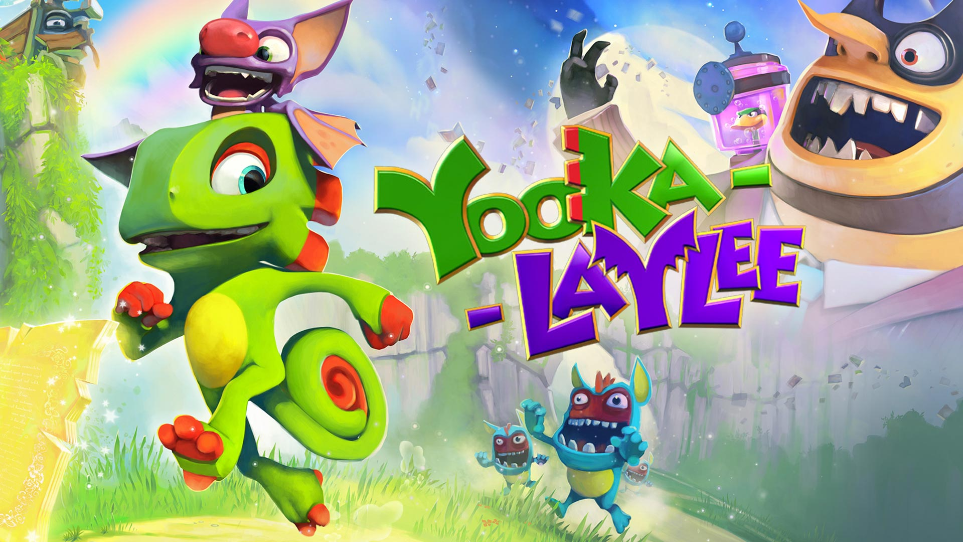 Yooka-Laylee limited run physical edition for Nintendo Switch – pre-orders live now!