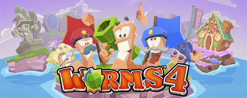 Worms 4 comes to Android!