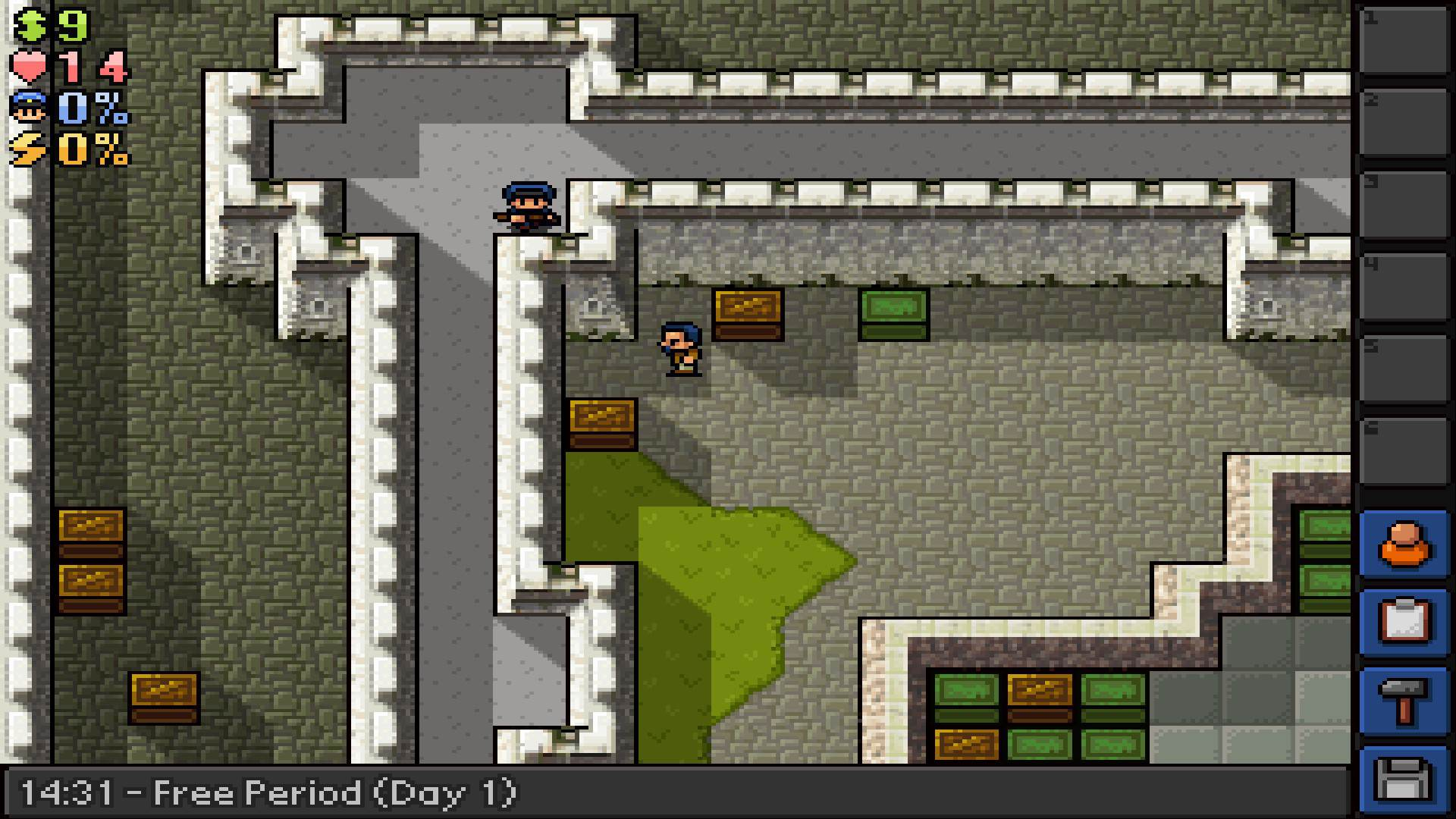 Free 'London Tower' Map Update for The Escapists!
