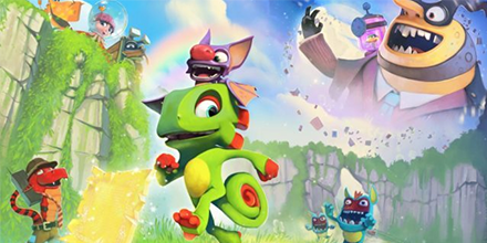 Yooka-Laylee E3 2016 Trailer Revealed!