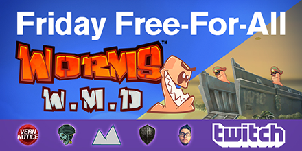 Worms W.M.D – Liberation Free DLC & Twitch Reveal Tournament!