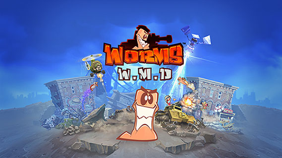 Worms W.M.D. is heading to Nintendo Switch!