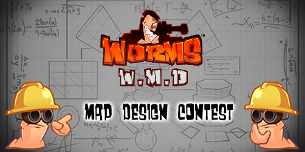 Worms W.M.D – Halloween Map Maker Competition