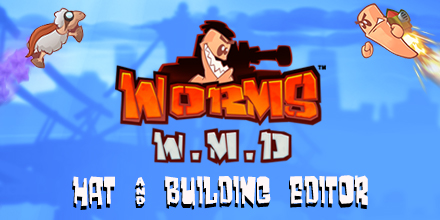 Worms W.M.D – Hat & Building Editor