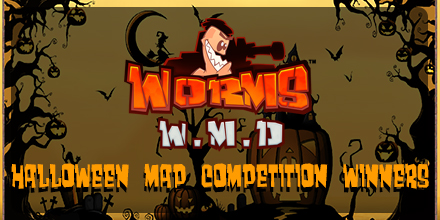 Worms W.M.D Halloween Map Competition Winners