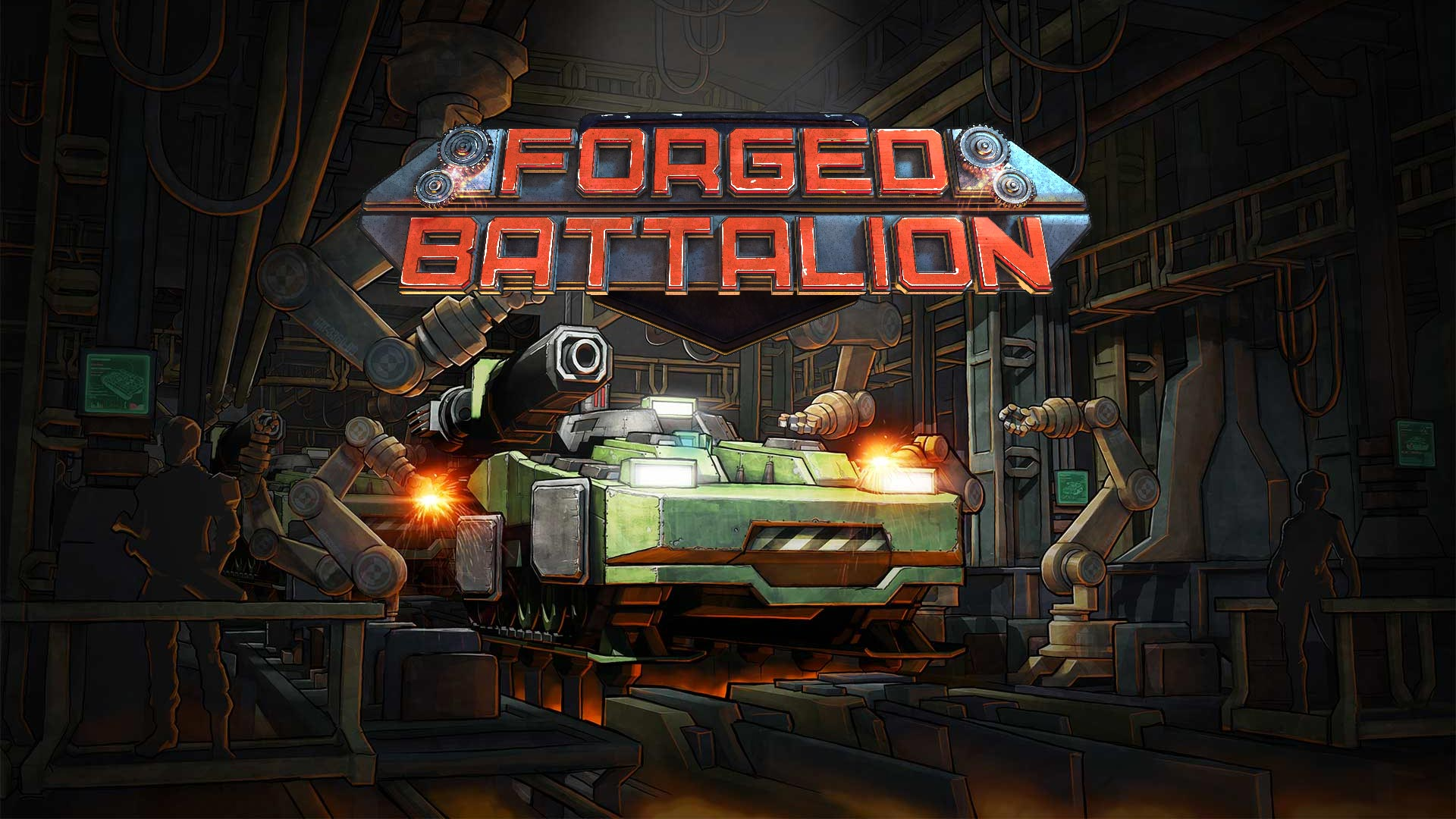 Forged Battalion Launches on Steam Early Access January 16th 2018!