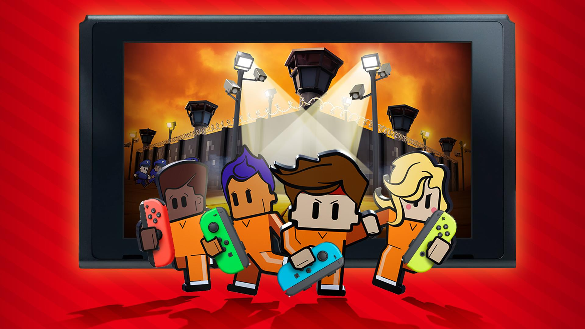 The Escapists 2 updated on Nintendo Switch