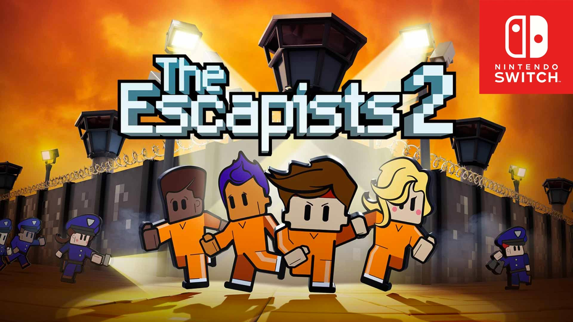 The Escapists 2 Available Now on Nintendo Switch
