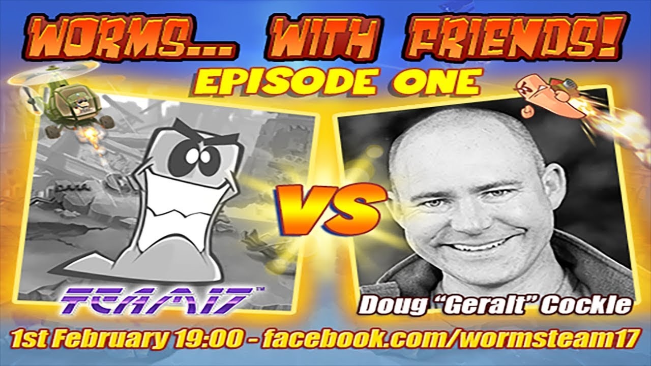 Introducing Worms With Friends – Featuring Doug Cockle!