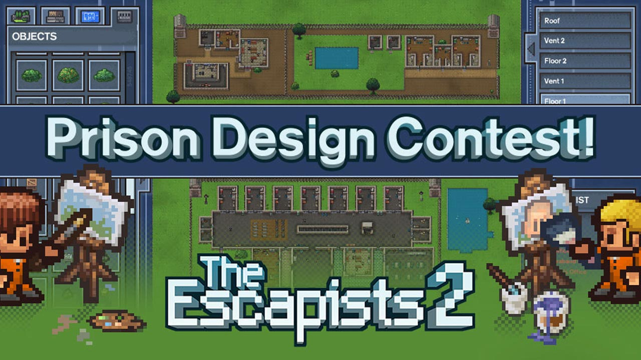The Escapists 2 – Prison Design Contest Winners!