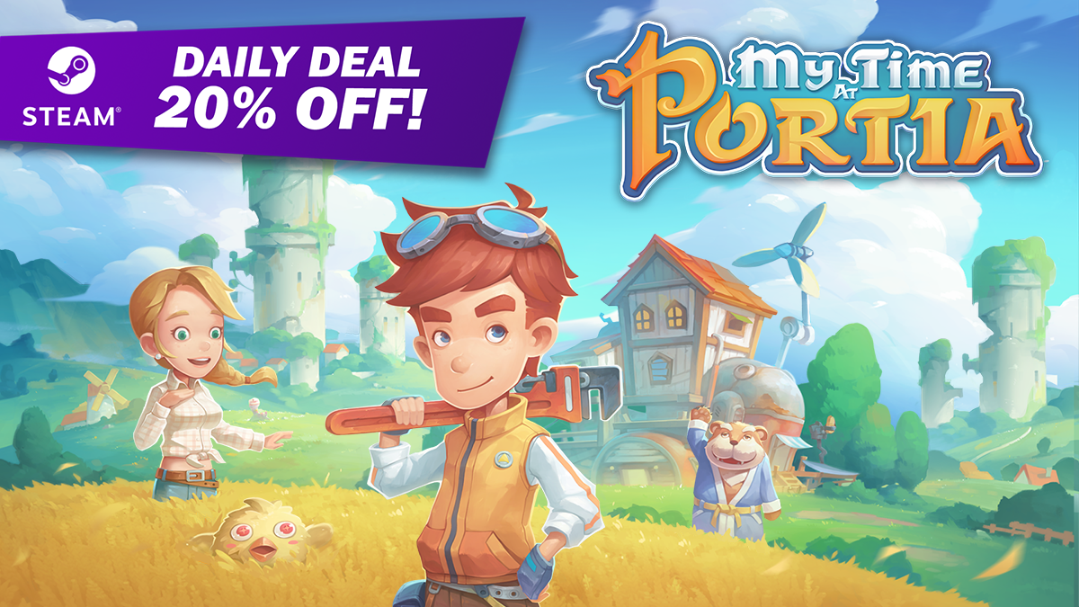My Time At Portia – SALE! 20% OFF