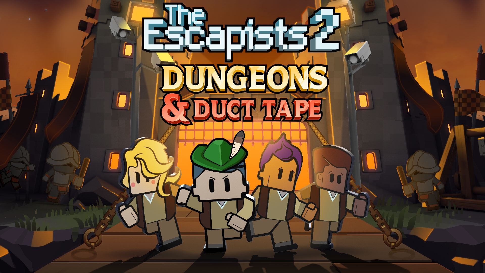 The Escapists 2 – Dungeons & Duct Tape DLC & Prison Editor Update