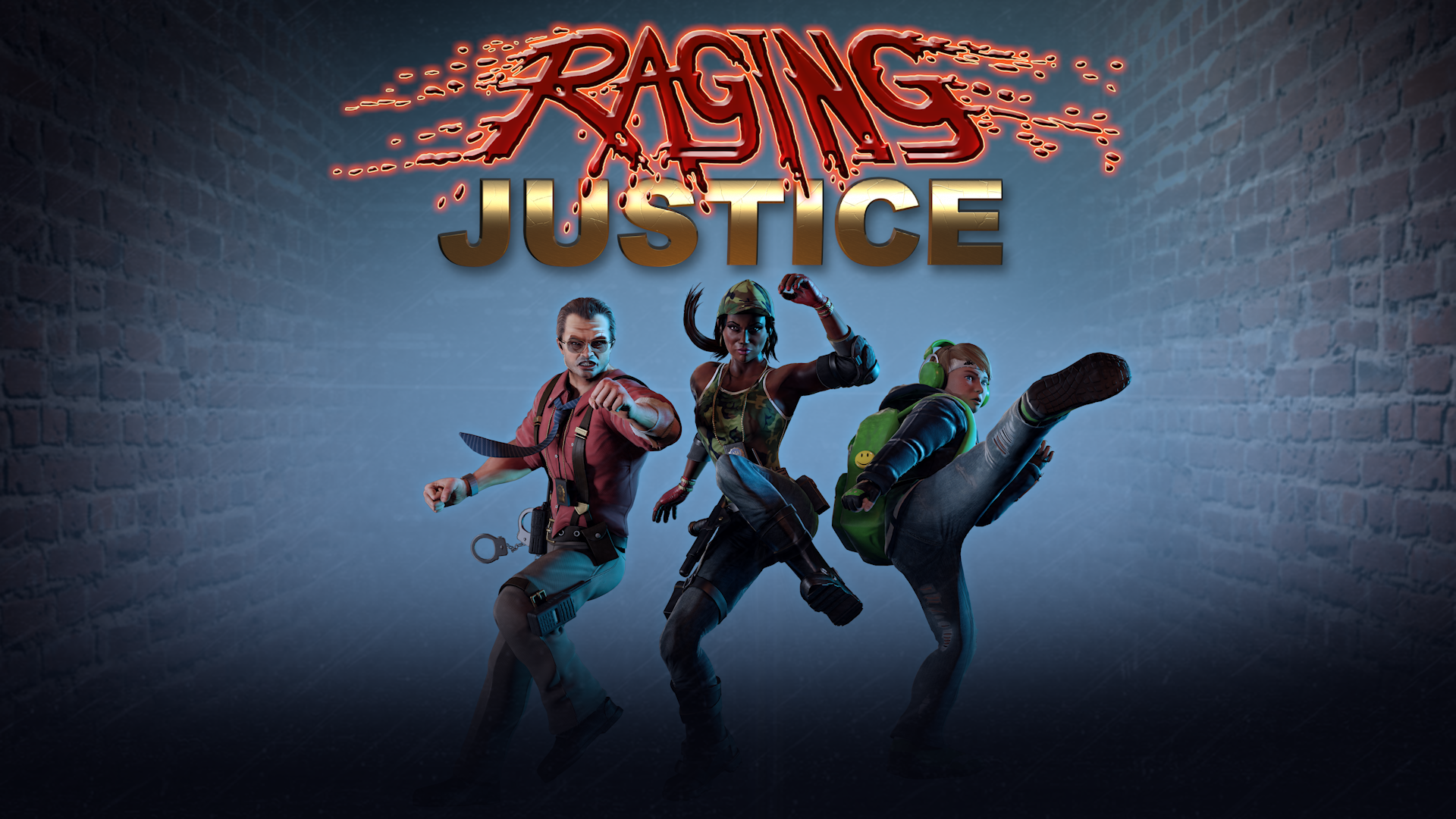 RAGING JUSTICE Launch Day Activities