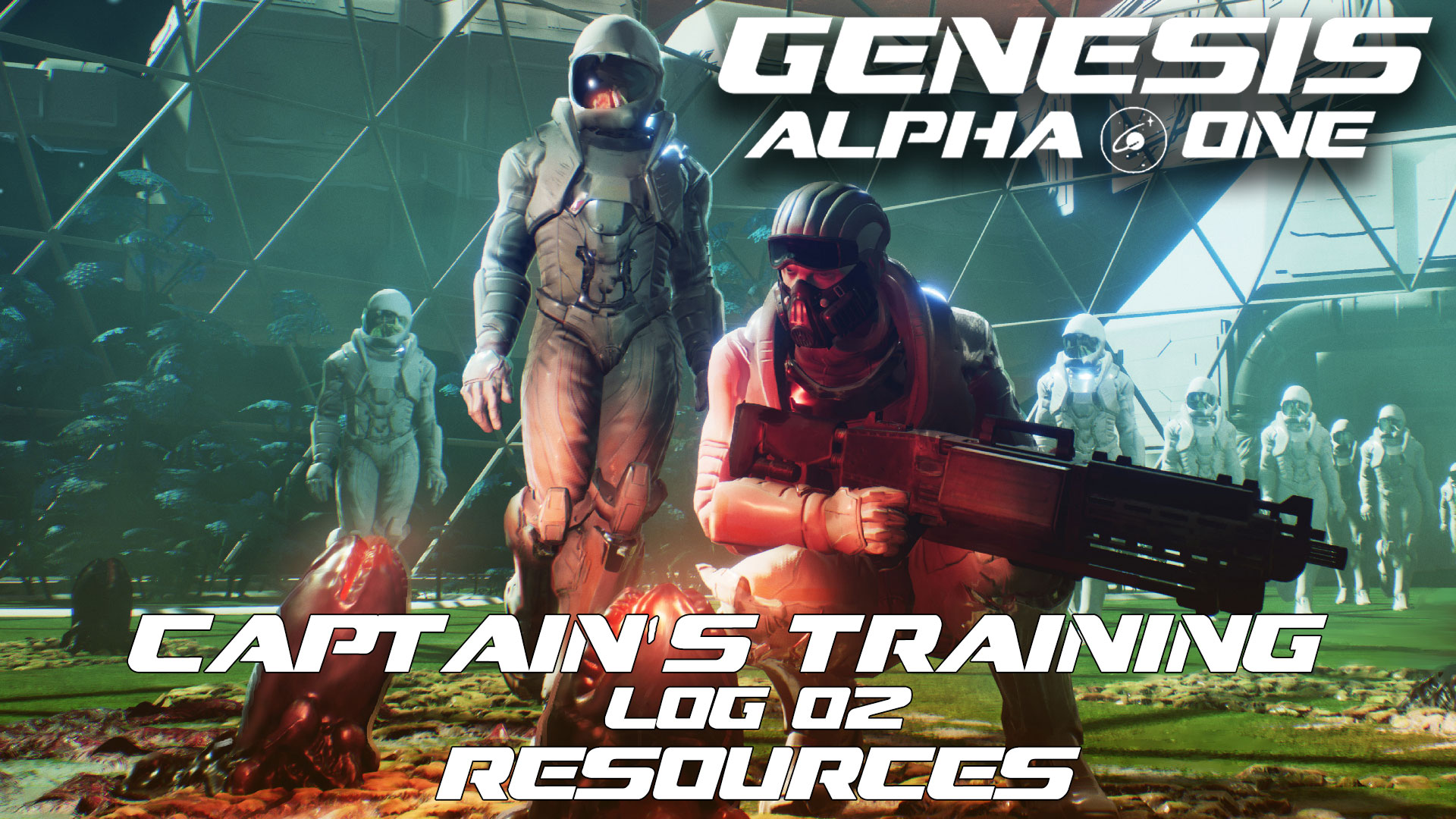 Genesis: Alpha One – Captain's Training – Resources