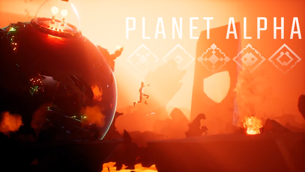 PLANET ALPHA releases September 4th 2018!