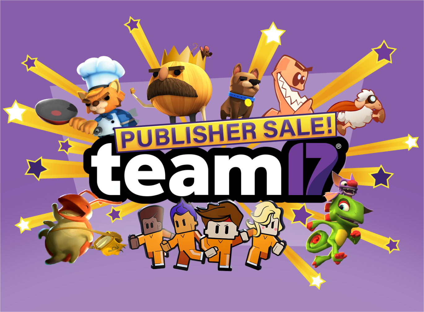 The Team17 Publisher Sale is open on Xbox One!