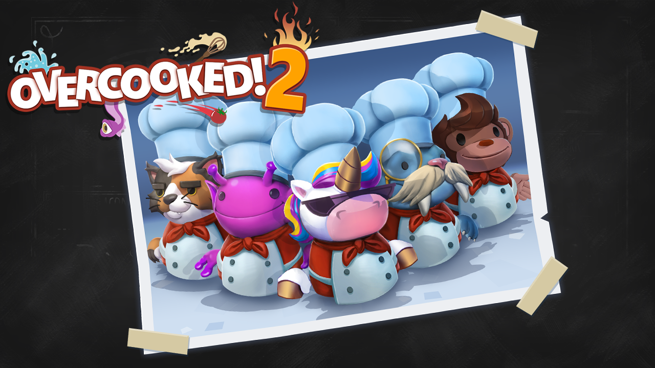 Overcooked! 2 – Get FIVE extra chefs free, when you pre-order!