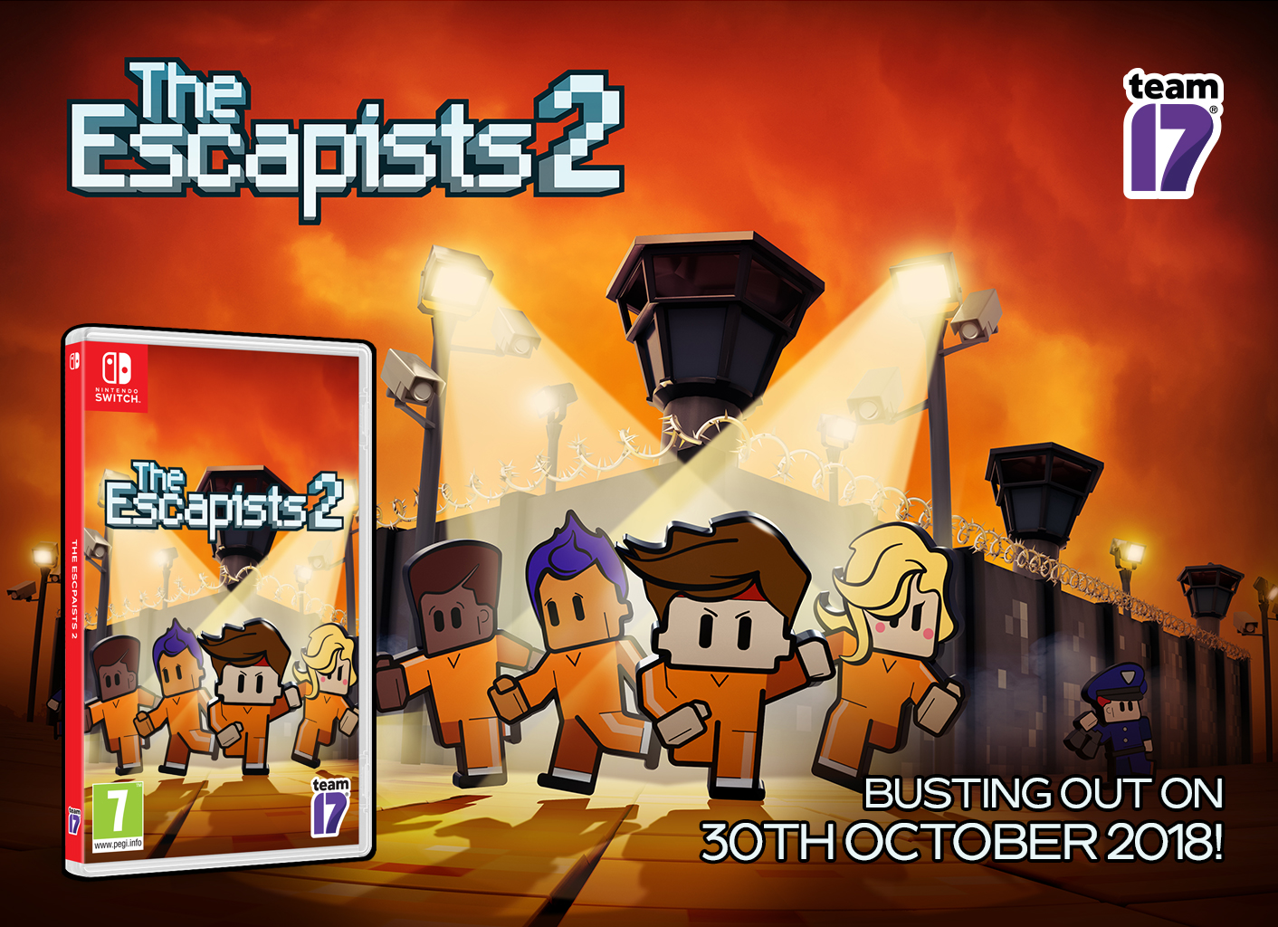 The Escapists 2: Physical release on Nintendo Switch
