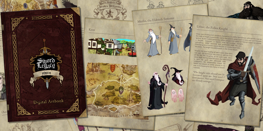 Sword Legacy: Omen Dev Blog 2 – Art Style