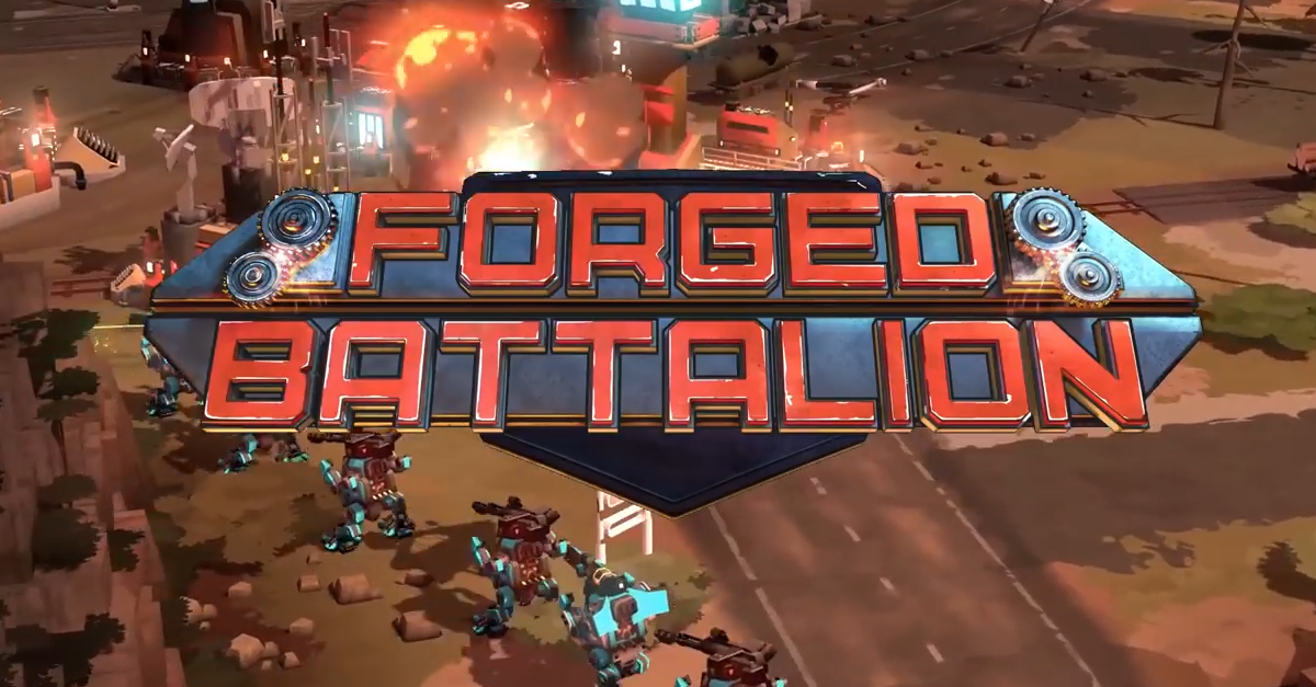 Forged Battalion leaves Early Access on August 14th!