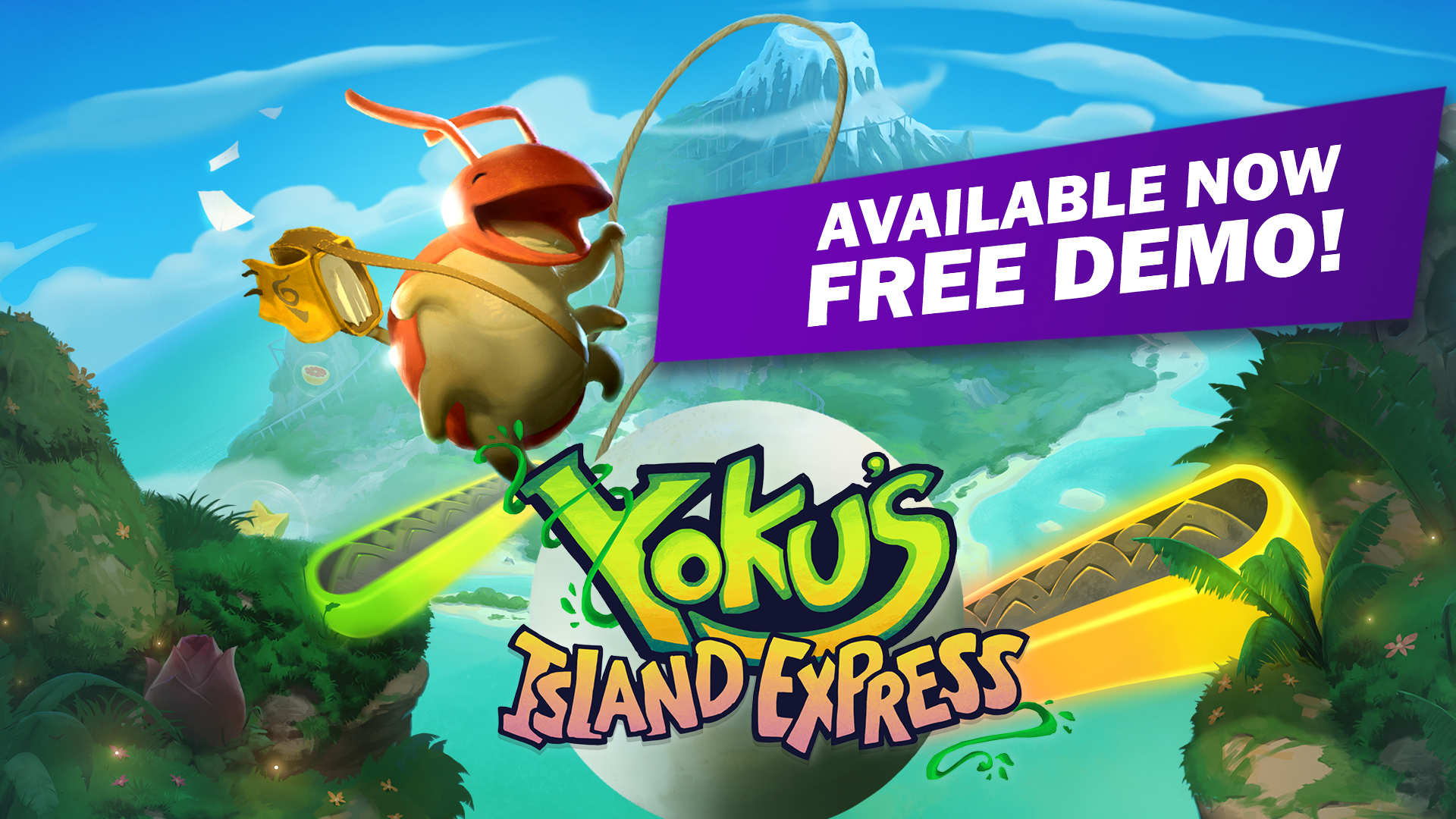 Yoku's Island Express demo available now on all formats