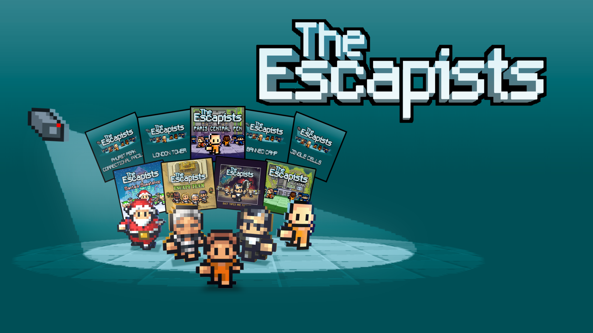 The Escapists: Complete Edition available now on Nintendo Switch!