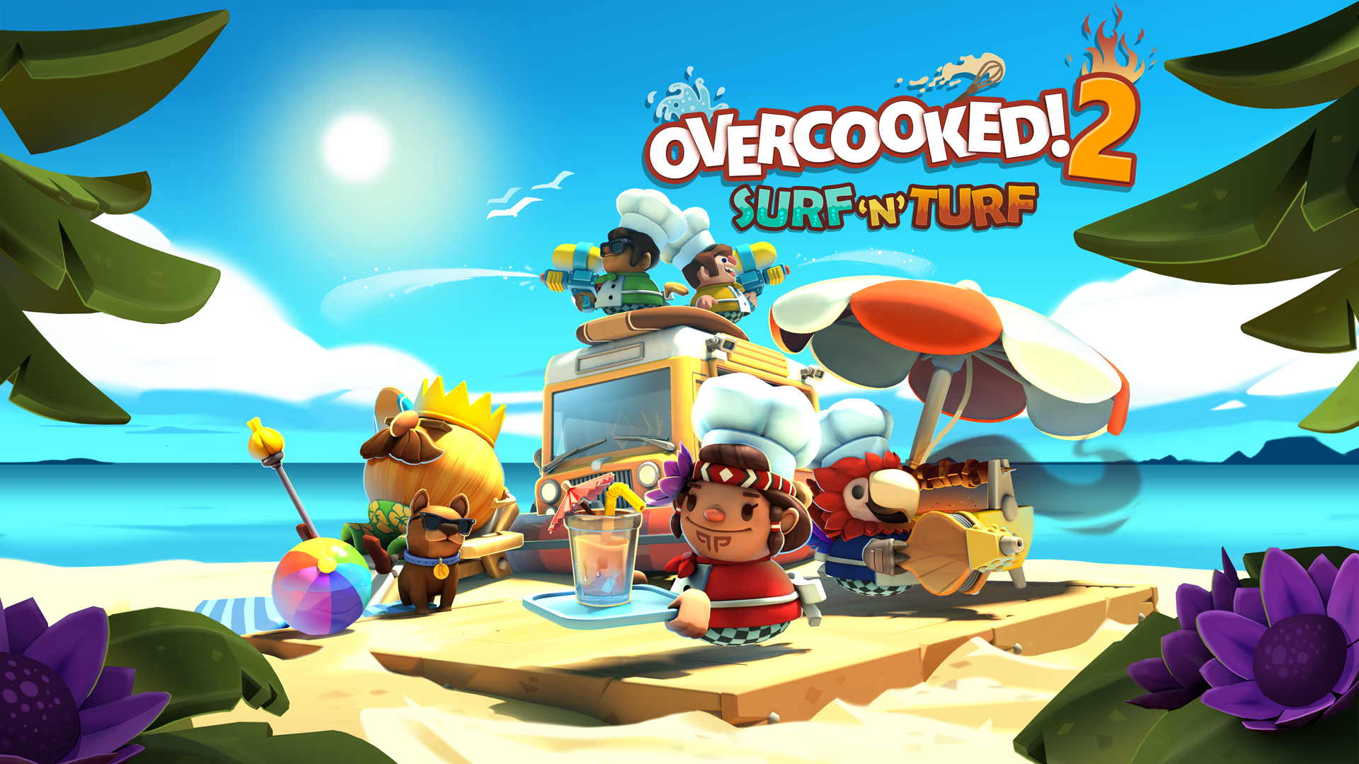 Overcooked! 2 – Surf 'n' Turf DLC Available Now!