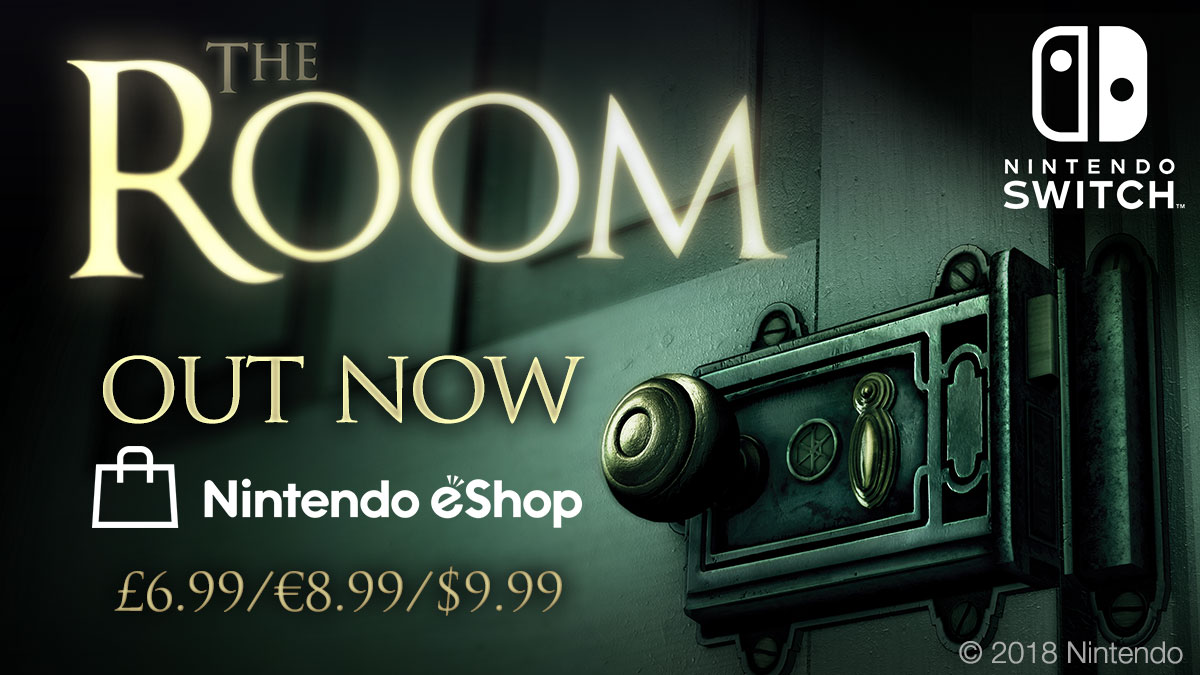 The Room is available now on Nintendo Switch!