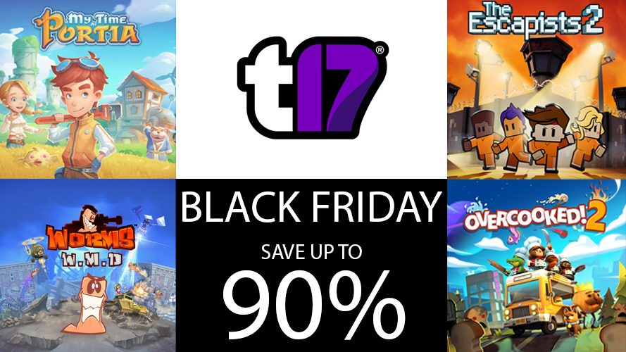 Save big on Team17 games for Black Friday!