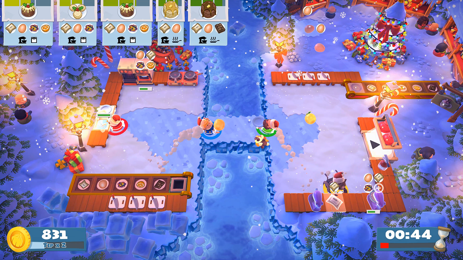Overcooked! 2: 'Kevin's Christmas Cracker' – Free Update Available