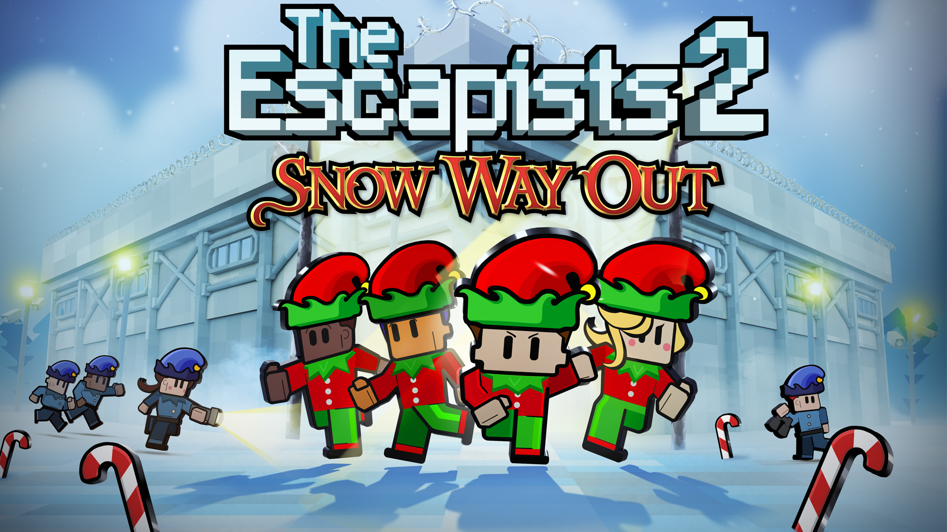 "The Escapists 2 'Snow Way Out"" Update Available Now!"