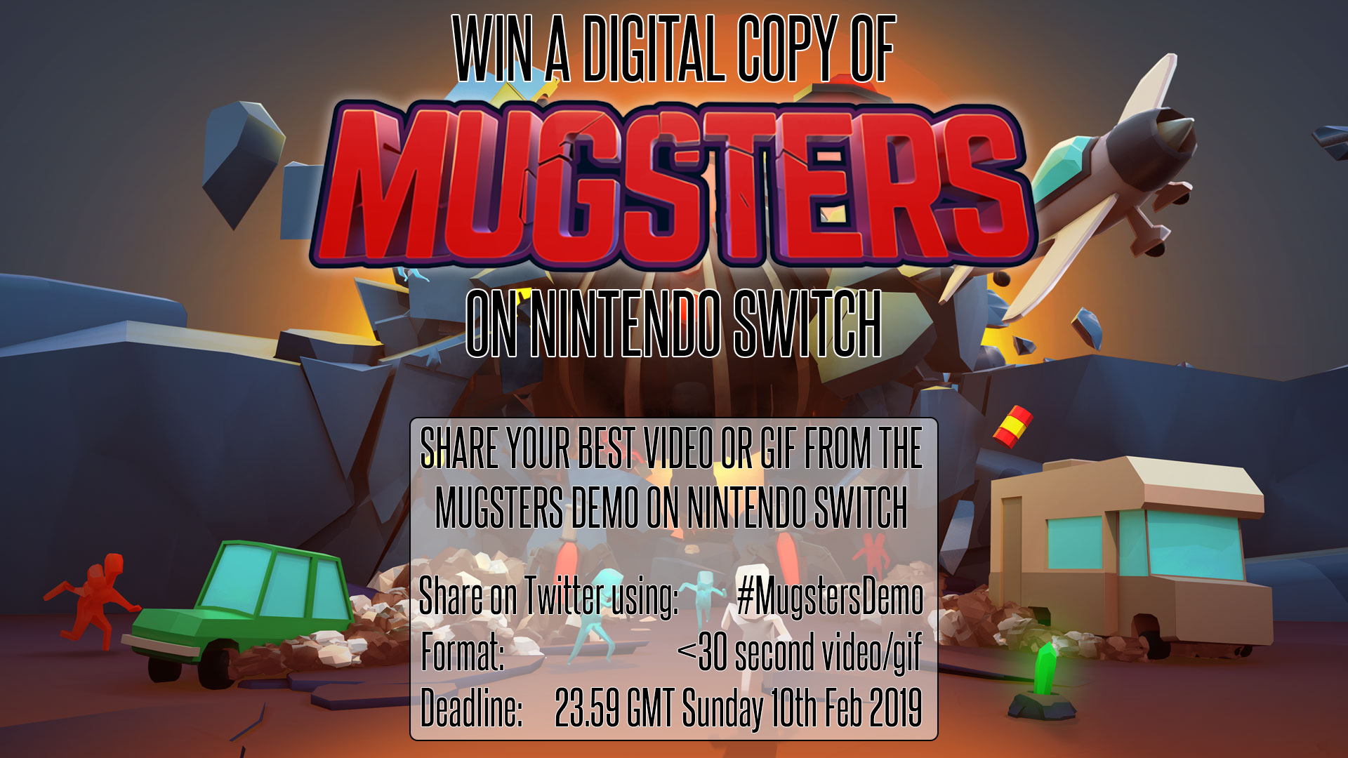 Win Mugsters on Nintendo Switch
