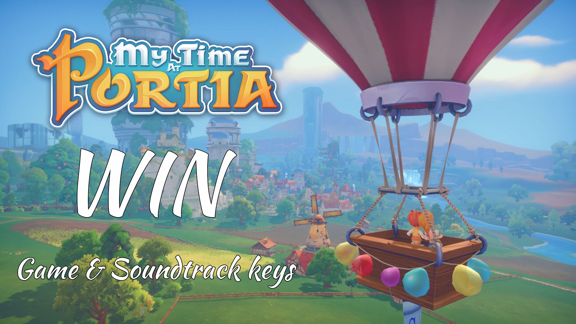 My Time At Portia: New Relationships Trailer & Valentine's Day Giveaway!