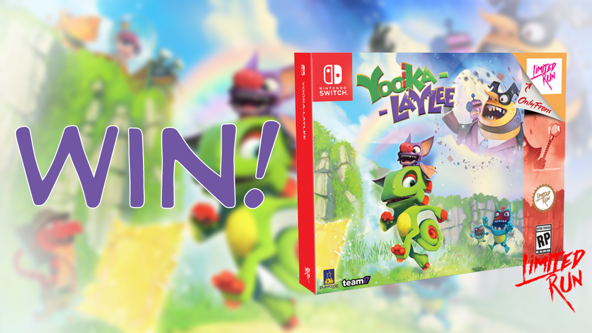Win a Limited Run Yooka-Laylee: Classic Edition