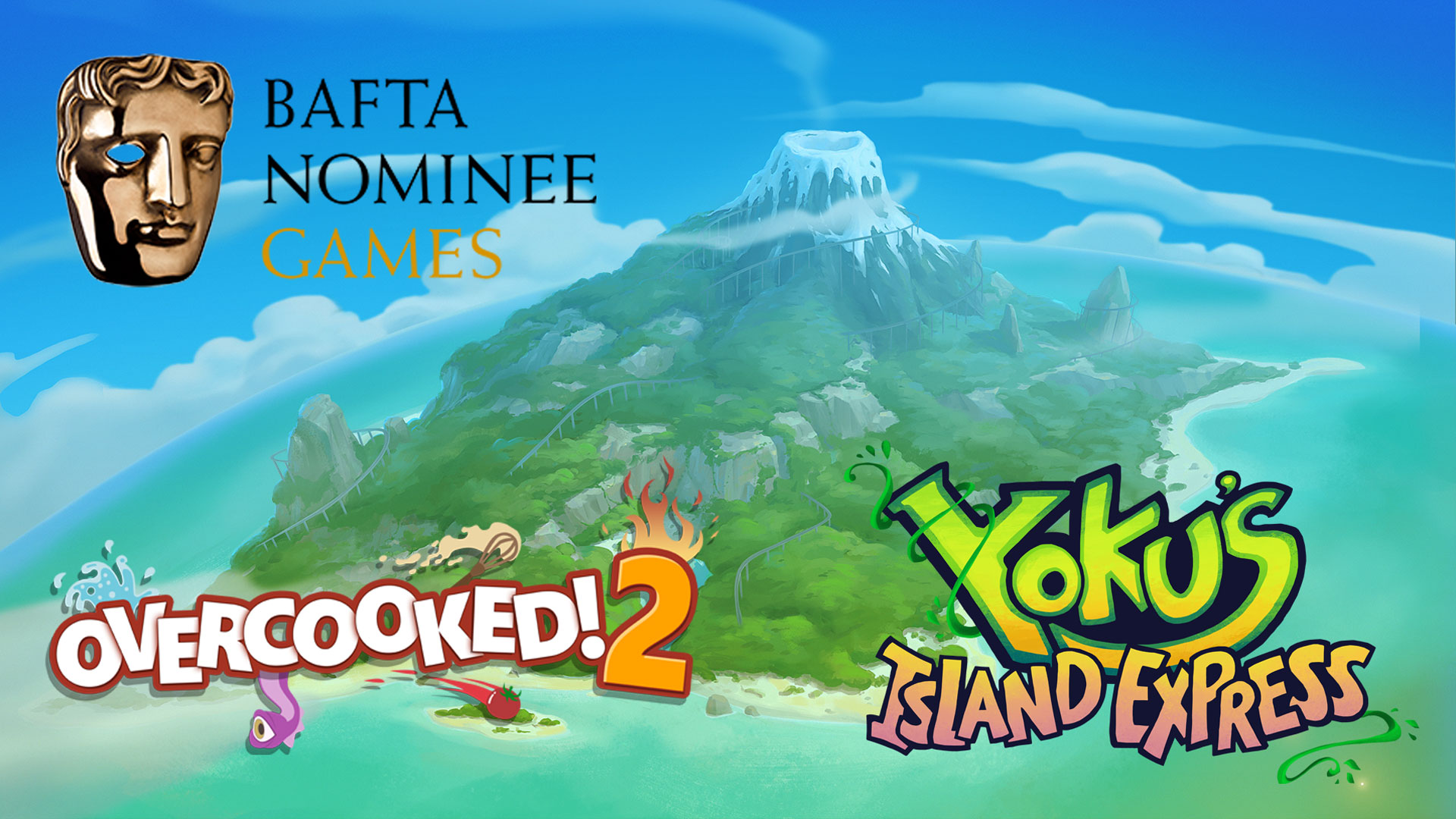 BAFTA Games Awards nominations for Overcooked! 2 and Yoku's Island Express!