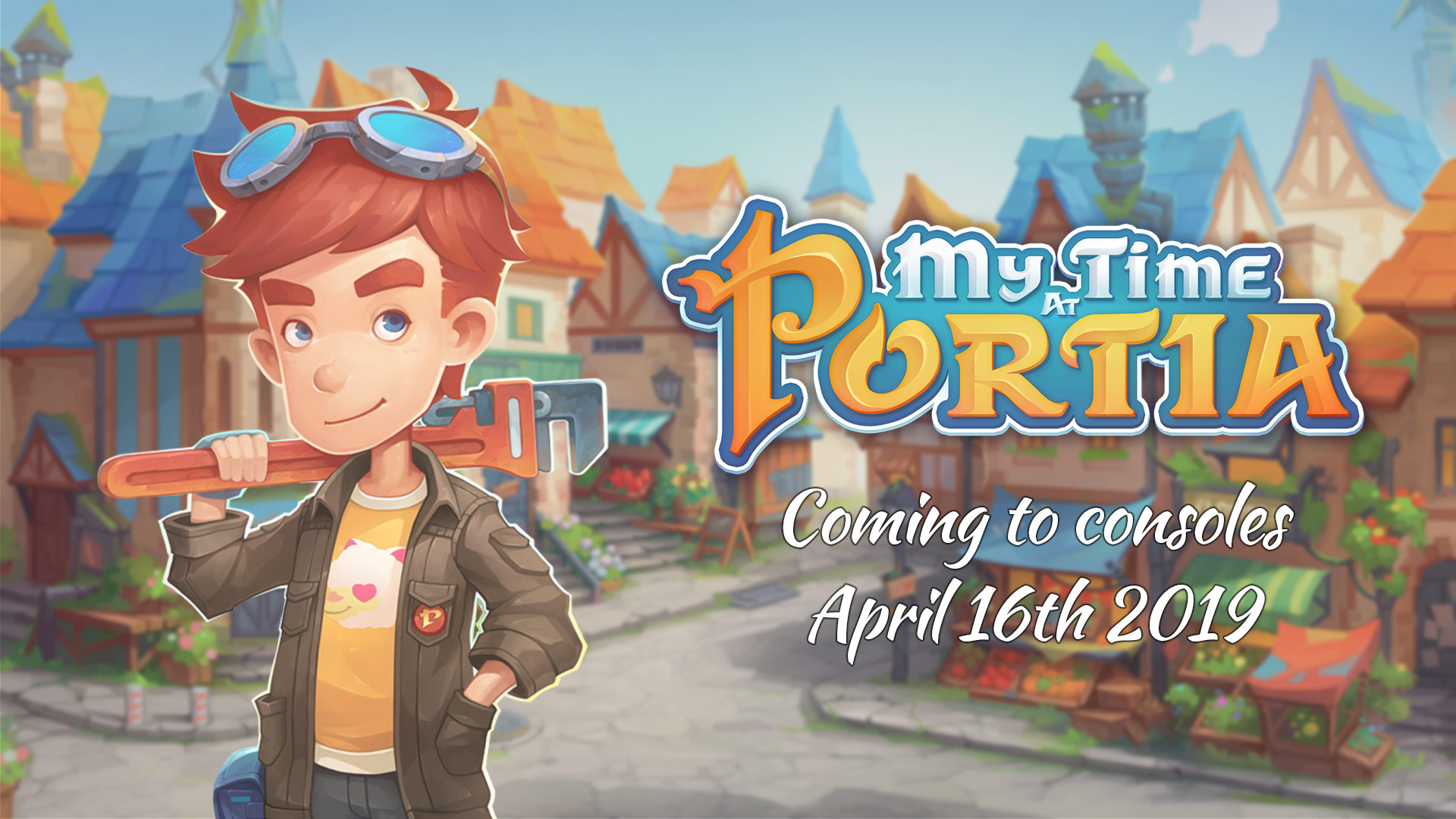 My Time At Portia – Coming to consoles April 16th 2019!