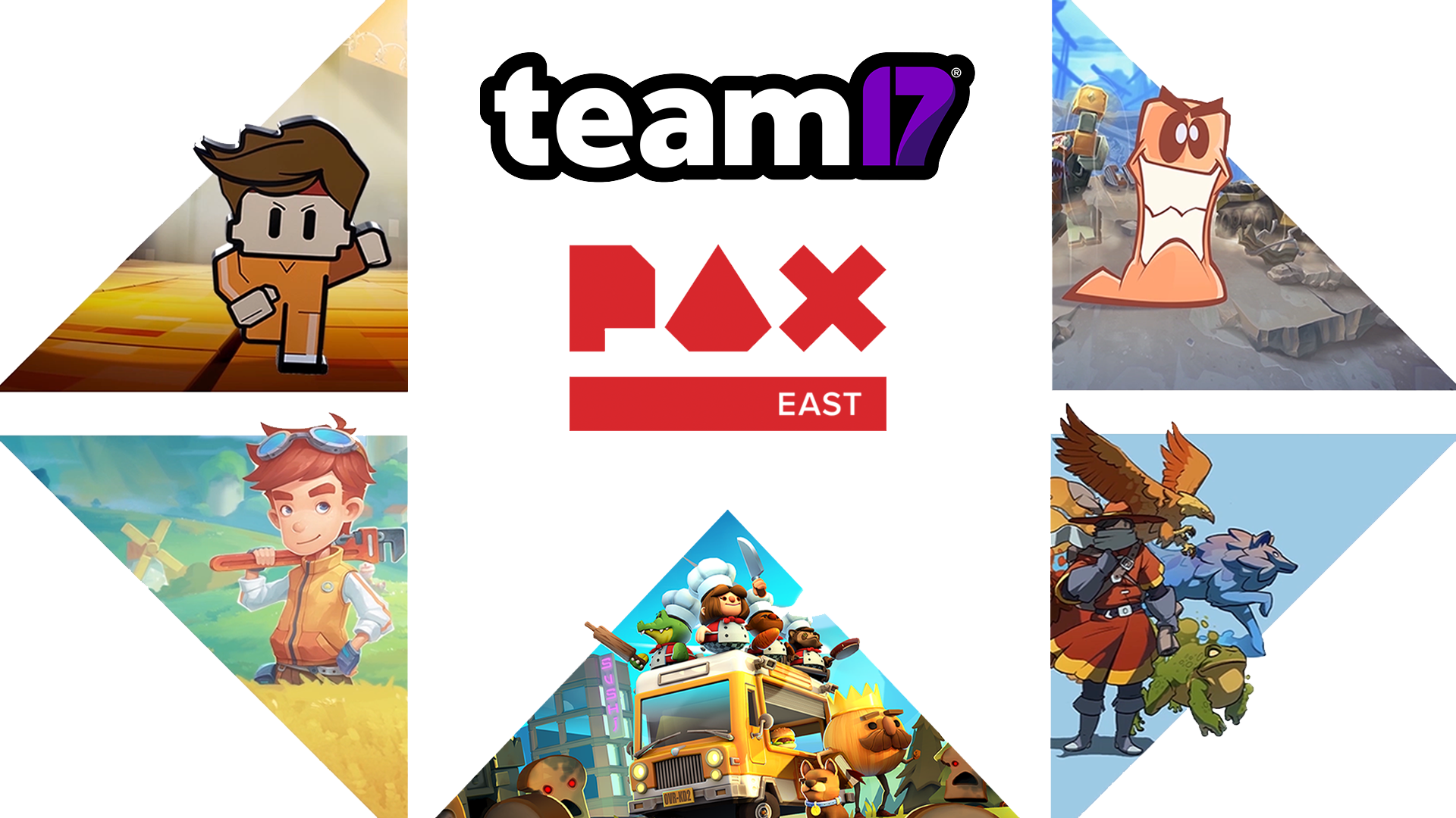 Announcing Team17's PAX East 2019 Games Line-Up