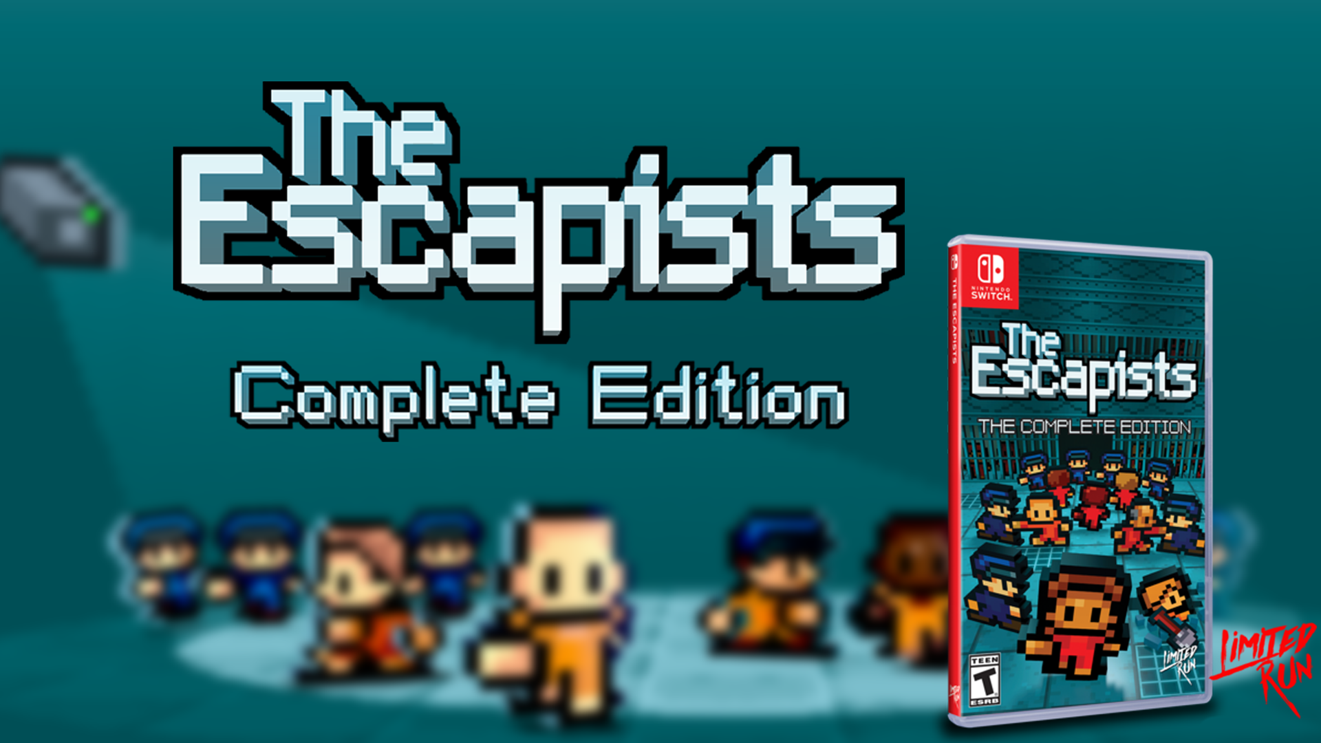 Pre-orders now open for physical The Escapists: Complete Edition on Nintendo Switch