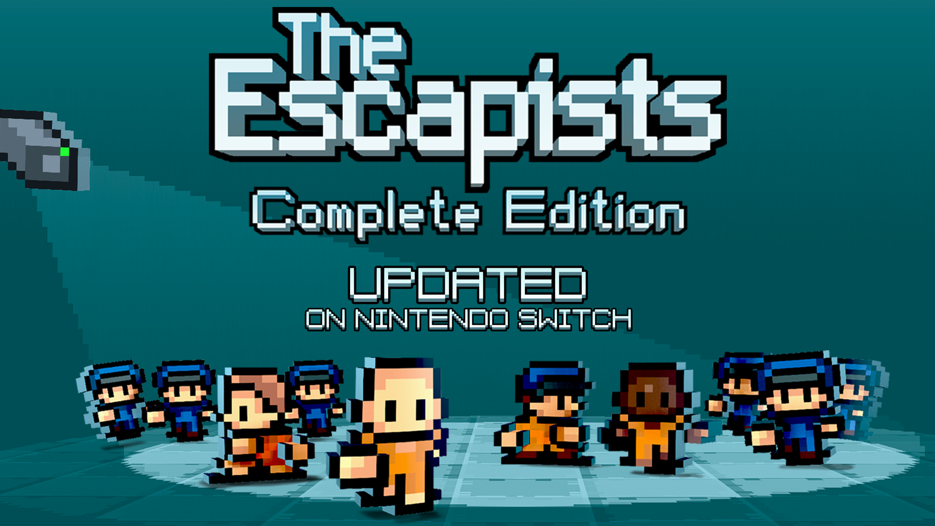 The Escapists: Complete Edition updated on Nintendo Switch