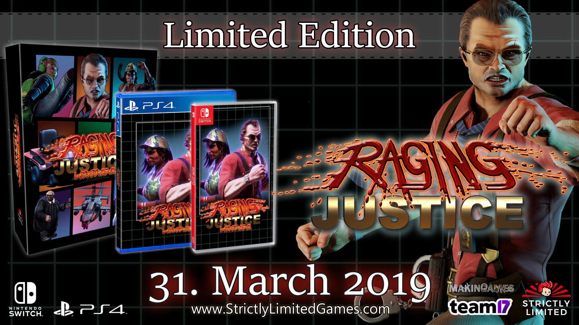 RAGING JUSTICE gets physical!