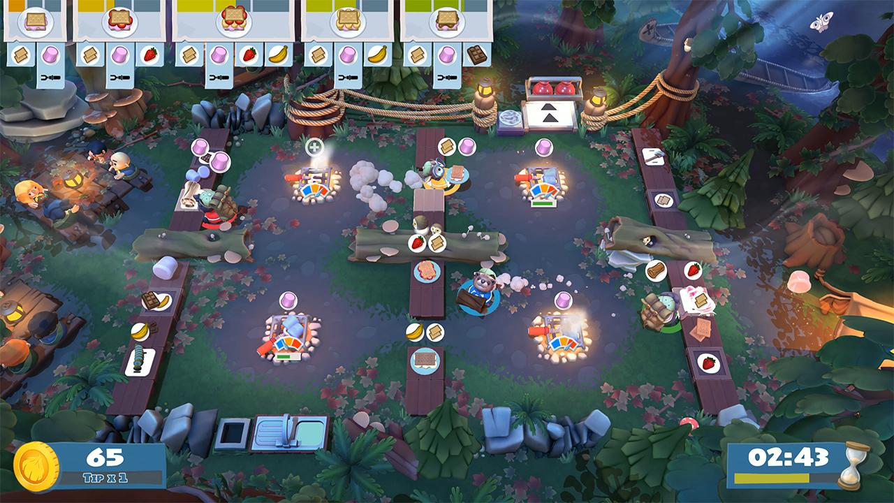 Overcooked! 2 – Campfire Cook Off DLC & Season Pass