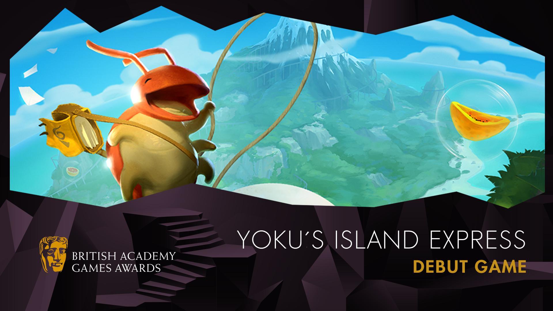 Yoku's Island Express wins a BAFTA Games Award!