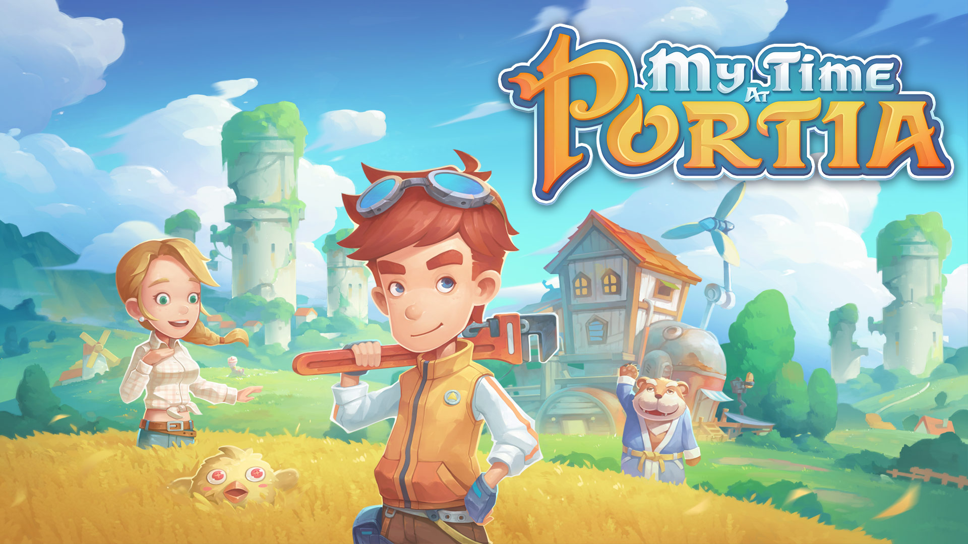 My Time At Portia – Available to pre-order on consoles!