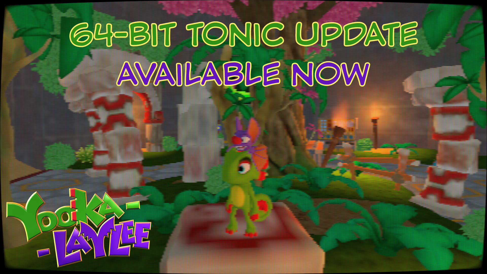 Yooka-Laylee goes 64-bit on Steam and Nintendo Switch
